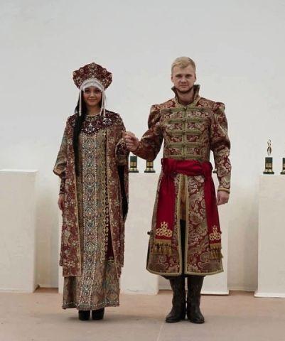 Невеста и жених в старом рус…