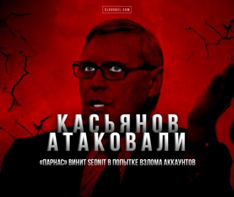 Касьянова атаковали. «Парнас…
