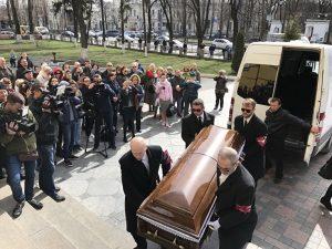 В Киеве хоронят Дениса Вороненкова