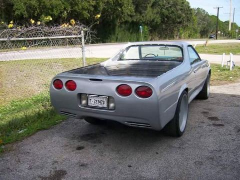 Chevrolet El Camino - машина-франкенштейн