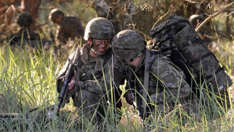 Армия выходного дня. Польша …