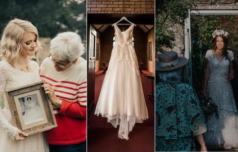 Свадебные наряды из прошлого…