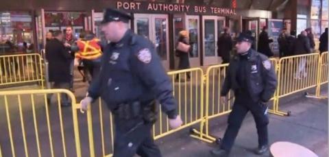 В Нью-Йорке прогремел взрыв в районе автовокзала