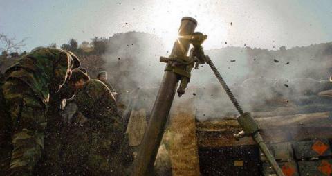 Киевские боевики выпустили по ЛНР более сорока снарядов, мин и гранат — штаб