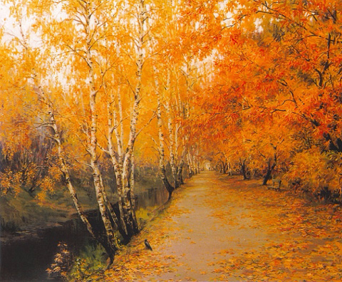 Русские пейзажи Марии Вишняк