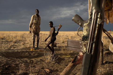 Конфликт племён на границе Кении и Эфиопии
