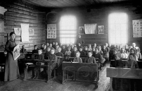 Какими были советские школьники