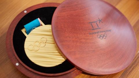 Дизайн медалей зимней Олимпи…