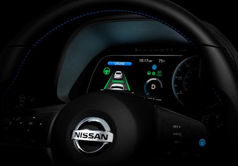 Nissan показал цифровую приб…