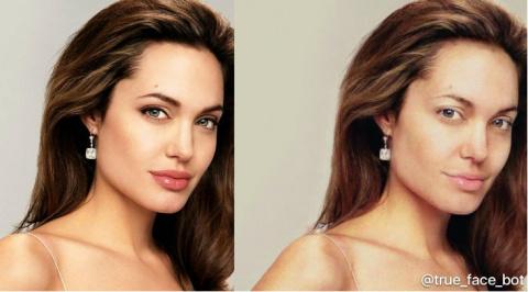 Вышел бот «для снятия макияжа», который показывает истинные лица накрашенных девушек