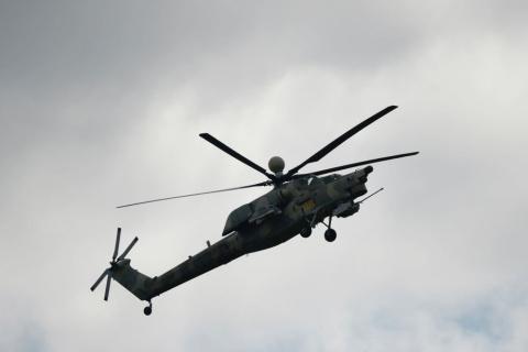 """Под Псковом вертолеты """"прину…"""