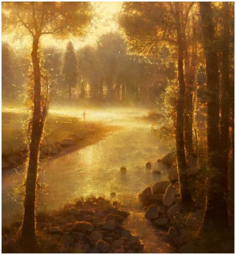Невероятной красоты пейзажи художника Brent Cotton