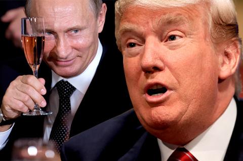 Путин сказал, Путин сделал! Трамп Президент!