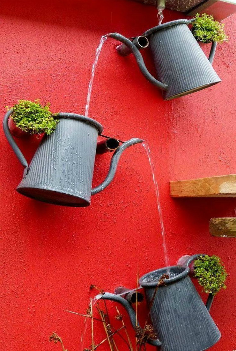 15 необычных идей, которые помогут создать оригинальную ливневую систему на участке