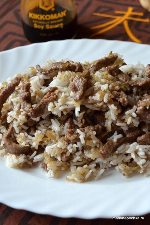Мясо по-китайски - рецепт бы…