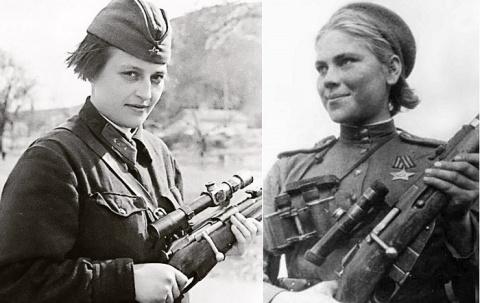 Женщины-снайперы - лучшие стрелки времен Второй мировой войны