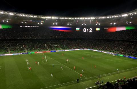 Под свист трибун: Сборная России проиграла Кот-д'Ивуару в товарищеском матче в Краснодаре