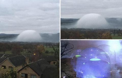 Туманный купол, очень прохож…