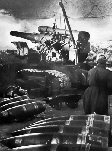 Шилов Алексей Кузьмич - командир 88-й тяжёлой артиллерийской бригады