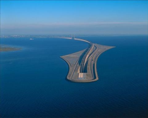 Эресуннский мост - шедевр мостостроения