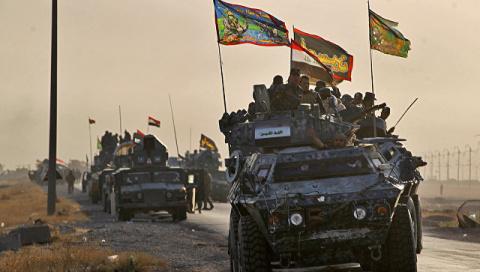 Ополчение Ирака выбило террористов из района Эль-Хадр под Мосулом