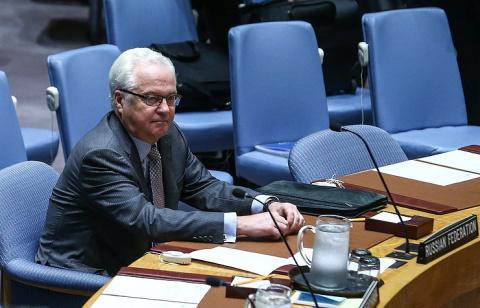 Чуркин прокомментировал предложение Франции разместить в Алеппо миссию ООН