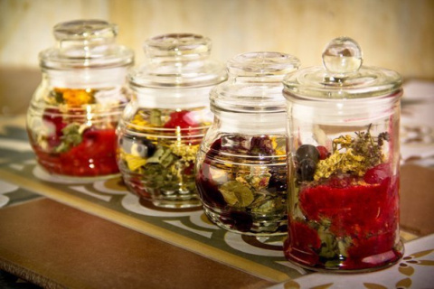 Безалкогольные напитки. Травяные чаи