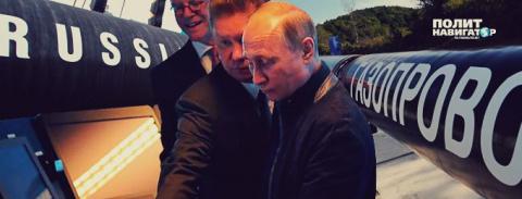 Путин дал старт «Турецкому потоку» в обход Украины