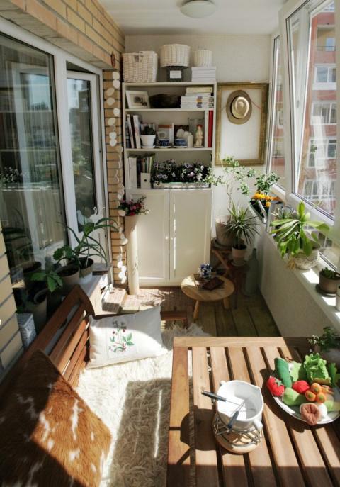 30 классных примеров шкафов на балконе