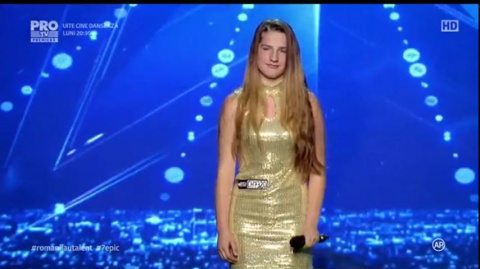 Юная певица из Молдовы срази…