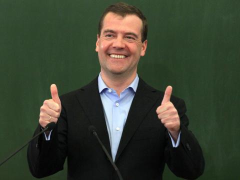 Медведев опроверг слова Пути…