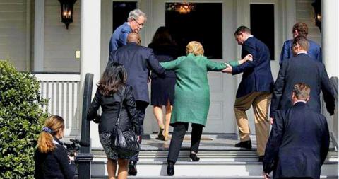Здоровье Клинтон ставит ее к…