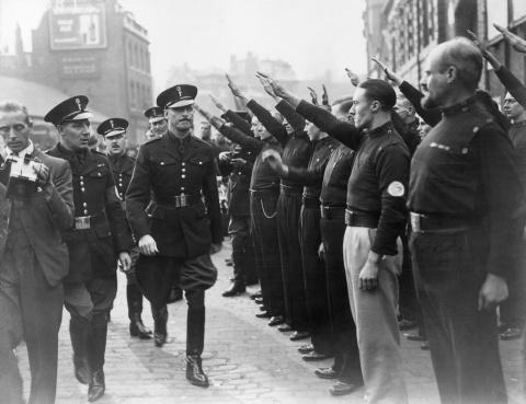 Марш фашистов в Лондоне, 1936