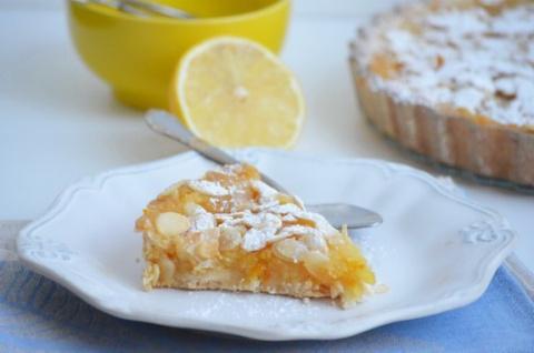 ДЕСЕРТНЫЙ ВИХРЬ. Лимонный пирог с миндалем