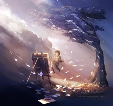Художник творящий Добро