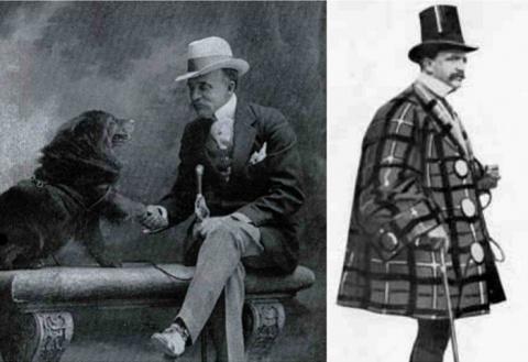 «Король пижонов» - модник XIX века, в гардеробе которого было 5000 галстуков и 300 пар перчаток