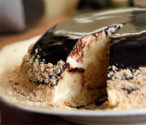 Вкусный шоколадный торт «Пломбир»