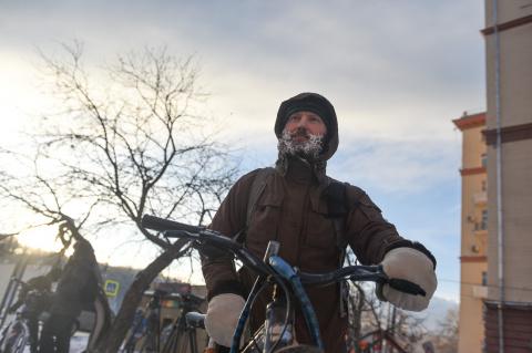 Правила жизни велосипедистов…