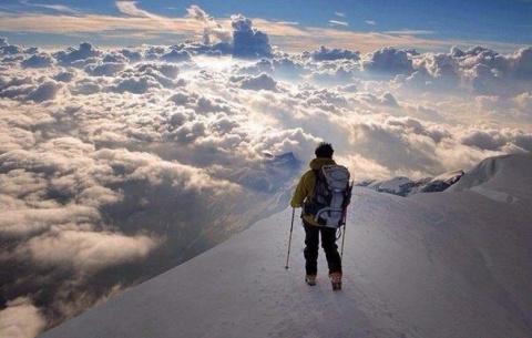 Выше облаков, Альпы...