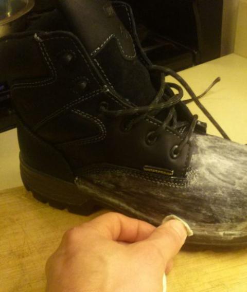 Как сделать ботинки действит…