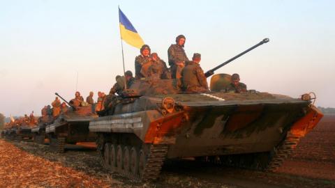 ДНР: украинские националисты…