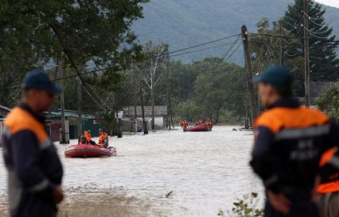 Число эвакуированных из-за паводка жителей Приморья превысило 600 человек