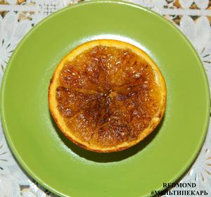 Десерт апельсиновое солнышко.