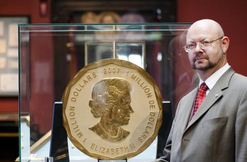 В Германии украли 100-килограммовую золотую монету