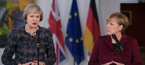 Брексит: Меркель зарабатывае…