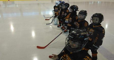 Юные хоккеисты вышли помериться силами в Петрозаводске