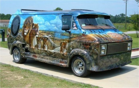 Крутой тюнинг микроавтобусов