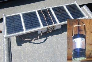 Самодельная солнечная панель…