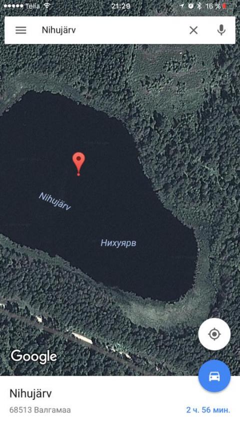 В этом эстонском озере рыба не клюёт