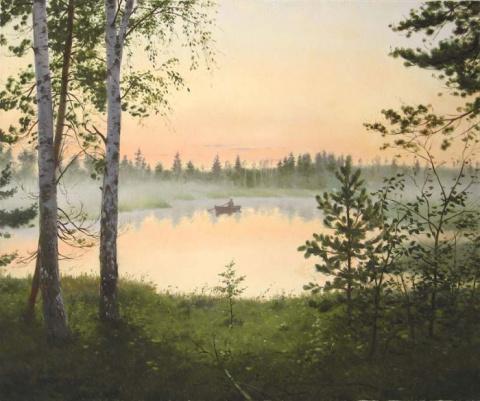 Московский художник Владимир Александров